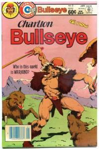 CHARLTON BULLSEYE #5, VF+, WarHund, 1981 1982, more Charlton in store
