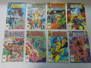 Copper age Avengers comic lot from #256-299 39 different (1985-89) 8.0/VF