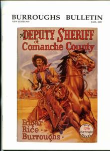 Burroughs Bulletin - New Series #48 2001- Edgar Rice Burroughs Jeff Jones VF