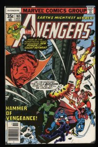 Avengers #165 VF 8.0 Marvel Comics Thor Captain America