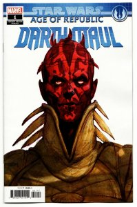 Star Wars Age Of Republic Darth Maul #1 Design Variant (Marvel, 2019) NM