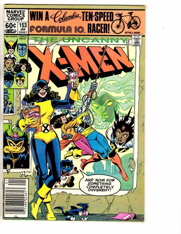(Uncanny) X-Men # 153 FN/VF Marvel Comic Book Iceman Beast Angel Cyclops J237