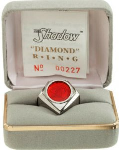 The Shadow Diamond Distributors Commemorative Ring Limited Edition #227/1750