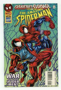 Amazing Spider-Man # 404 1994 marvel  maximum clonage pt 3 ben reiley scarlet sp
