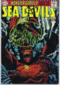 Sea Devils #30 ORIGINAL Vintage 1966 DC Comics