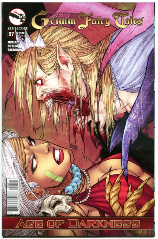 GRIMM FAIRY TALES #97 B, NM, 2005, 1st, Good girl, Rapunzel, more GFT in store