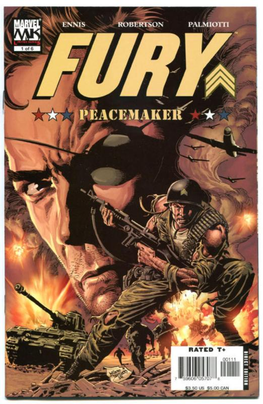 FURY #1 2 3 4 5 6, NM, Garth Ennis, Sgt, War, WWII, 2006, Nick, more in store