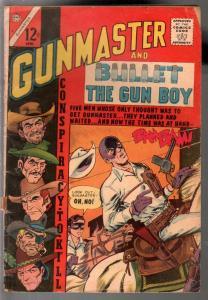 Gunmaster #4 1965-Charlton-secret identity Western hero-Gun Boy-torture-G