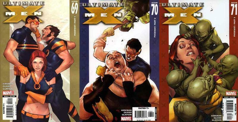 ULTIMATE X MEN (2001-2009) 69-71  Phoenix?