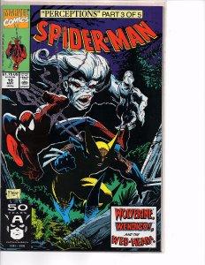 Marvel Comics Spider-Man #10 Todd McFarlane Story & Art Wendigo Wolverine
