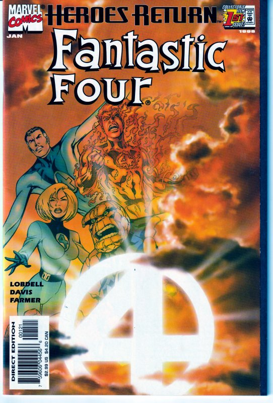 Fantastic Four  (vol. 3) #1 Variant