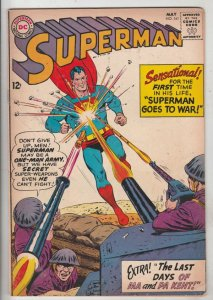 Superman #161 (May-63) FN/VF Mid-High-Grade Superman, Jimmy Olsen,Lois Lane, ...