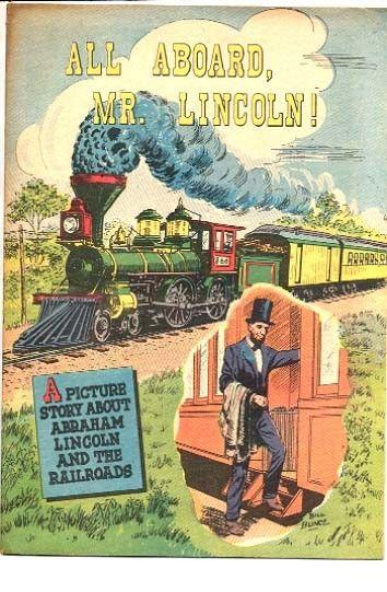 ALL ABOARD, MR. LINCOLN-1959--CIVIL WAR--GIVEAWAY COMIC FN