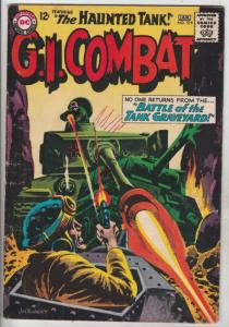 G.I. Combat #109 (May-65) FN/VF Mid-High-Grade The Haunted Tank