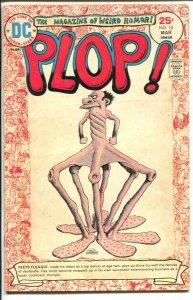 Plop! #10 1975-DC-satire-parody-humor-Basil Wolverton-cover-VG