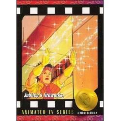 1993 Skybox X-MEN Series 2 JUBILEE'S FIREWORKS #95 Ex