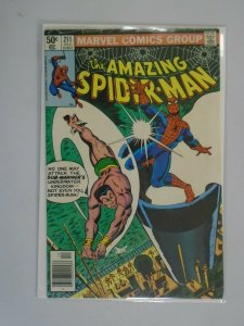 Amazing Spider-Man #211 Newsstand edition 6.0 FN (1980 1st Series)