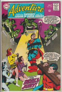 Adventure Comics #370 (Jul-68) VF High-Grade Legion of Super-Heroes, Superboy
