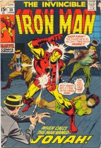 Iron Man (1968 series) #38, VG+ (Stock photo)