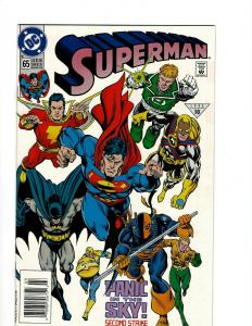 Lot of 12 Superman DC Comic Books #65 66 76 77 78 78 79 80 81 82 82 83 J395