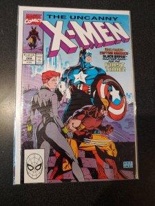 Marvel Comics Uncanny X-men 268 Wolverine Captain America Black Widow VF/NM