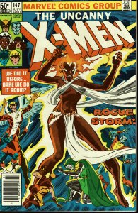 X-Men #147 - 9.2 or Better - Rogue Storm!