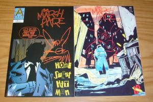 March Hare #1 VF/NM one-shot + vol. 2 #1 keith giffen lodestone a-list comics