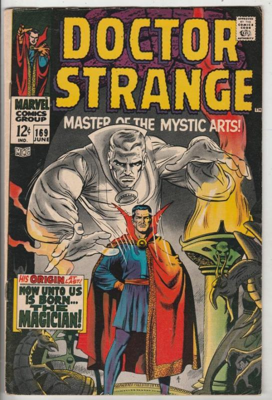 Doctor Strange #169 (Jun-68) FN/VF Mid-High-Grade Dr. Strange