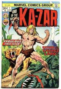 KA-ZAR #1-1974-MARVEL-VF-FIRST ISSUE