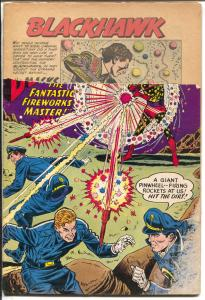 Blackhawk-#149-1960-DC-photo cover-distributor return copy-Mickey Mantle-P