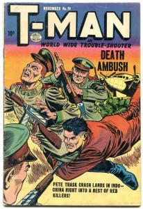 T-Man #19 1954- Quality Comics- Fight the Commies VG/F