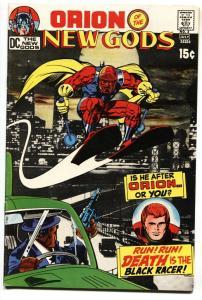 NEW GODS #3 1971-JACK KIRBY-ORION-BLACK RACER VF
