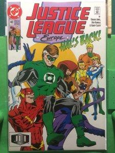 Justice League Europe #40