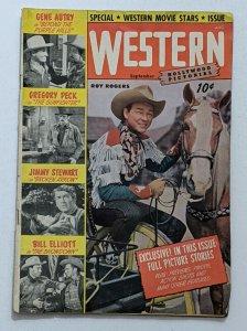 Hollywood Pictorial #5 (Sept 1950, St. John) VG 4.0 Roy Rogers Jimmy Stewart