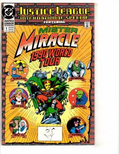 9 Justice League Comics Intl. Special 1 2 Annual 2 3 4 5 Europe Annual 1 2 3 PP4