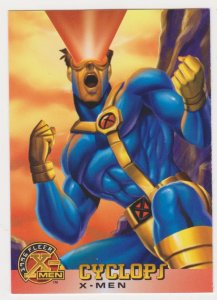 1996 Fleer X-Men #5 Cyclops