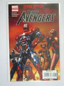 Dark Avengers #1 E variant cover 8.0 VF (2009 2nd Printing)