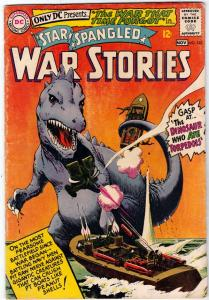 Star Spangled War Stories #123 (Nov-65) FN Mid-Grade War That Time Forgot Din...