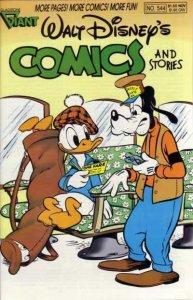 Walt Disney's Comics and Stories #544, VF+ (Stock photo)