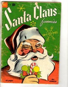Four Color # 302 VG Dell Golden Age Comic Book Santa Claus Funnies JL14