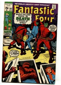 FANTASTIC FOUR #101 1970- THE THING-JACK KIRBY MARVEL VF-