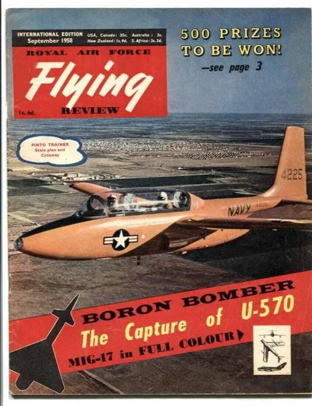 Royal Air Force Flying Review September 1959- MIG-17