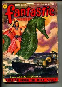 Fantastic Adventures-Pulp-5/1951-Theodore Sturgeon-Paul W. Fairman