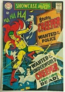SHOWCASE#73 FN 1968 THE CREEPER DC SILVER  AGE COMICS