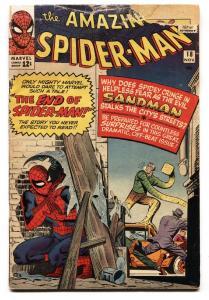 Amazing Spider-man #18 1964-Marvel-Steve Ditko-Sandman-G