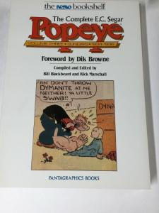 E.c. Segar Popeye Complete Nemo Bookself Sundays Volume 1 2 3 4 Fantagraphics Nm