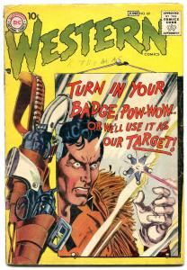 Western Comics #69 1958-POW WOW SMITH-greytone cover-Silver Age