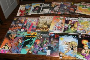 Medium Priority Mail Box Full of INDY / Independent Comics Bulk Mixed Diff Lot