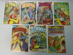 Strike set #1-6 + Free Special 6.0 FN (1987 Eclipse)