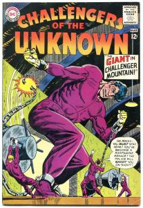 CHALLENGERS OF THE UNKNOWN #36 1964-DC COMICS DINOSAURS-fine FN